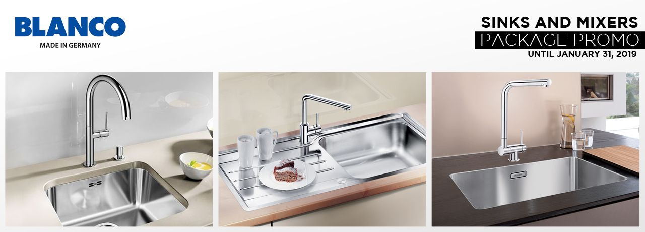 Blanco Sinks and Mixers Package Promo image 2