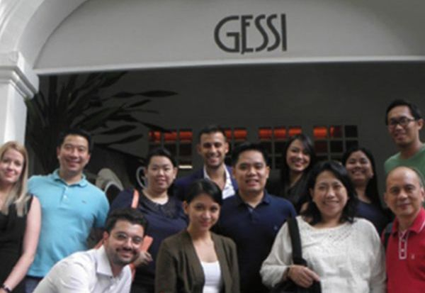 Dexterton and Rockwell Group Visit Casa Gessi Singapore