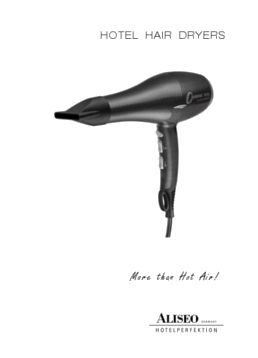 Aliseo - Hotel Hair Dryers